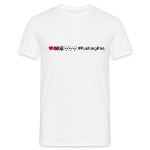 Love T&T Music #PushingPan - Men's T-Shirt