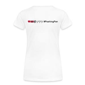 Love T&T Music #PushingPan - Women's Premium T-Shirt