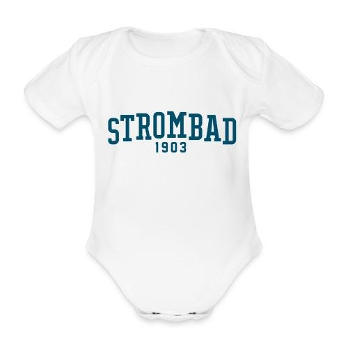 Strombad baby college - Baby Bio-Kurzarm-Body