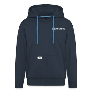superpuma hooded jacket - Men's Premium Hooded Jacket