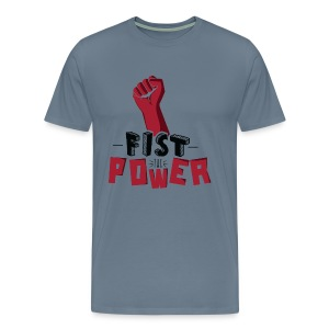 Fist The Power Tee shirts - T-shirt Premium Homme