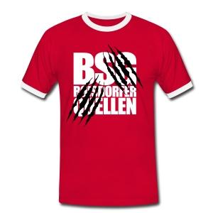 Krallen (Weiß-Schwarz) - Männer Kontrast-T-Shirt