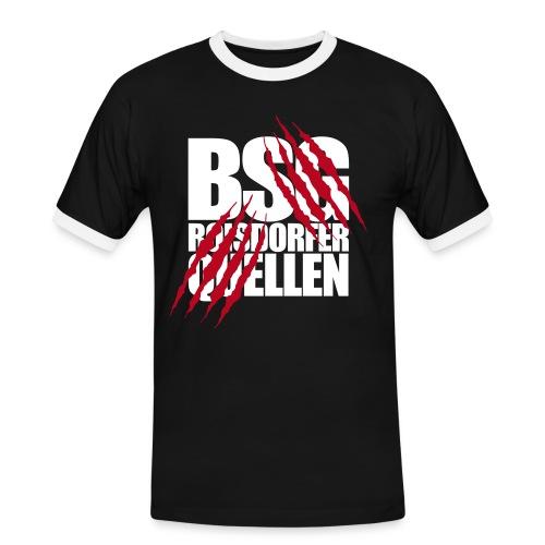 Krallen (Weiß-Rot) - Männer Kontrast-T-Shirt