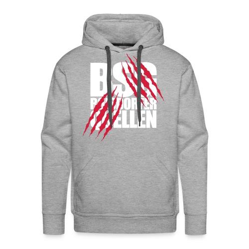 Krallen (Weiß-Rot) - Männer Premium Hoodie