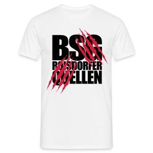 Krallen (Schwarz-Rot) - Männer T-Shirt