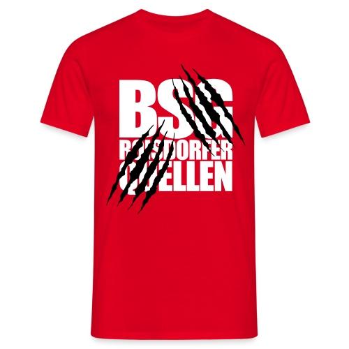 Krallen (Weiß-Schwarz) - Männer T-Shirt