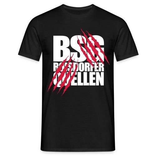 Krallen (Weiß-Rot) - Männer T-Shirt