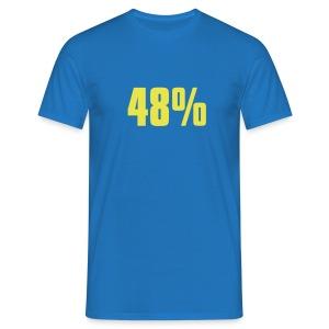 48% - Men's T-Shirt