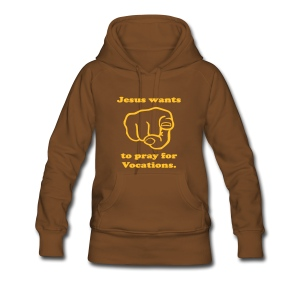 PRAY FOR VOCATIONS - Women's Premium Hoodie