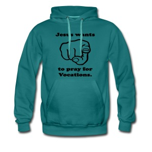 PRAY FOR VOCATIONS - Men's Premium Hoodie