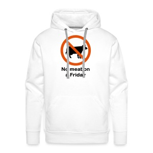 NO MEAT ON A FRIDAY - Sweat-shirt à capuche Premium pour hommes