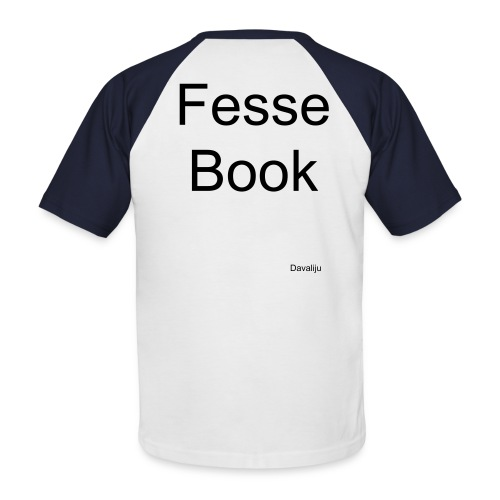 Fesse bouc - Men's Baseball T-Shirt