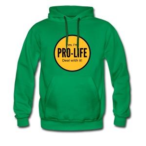 YES I'M PRO-LIFE - Men's Premium Hoodie
