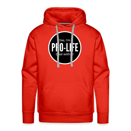 YES I'M PRO-LIFE - Mannen Premium hoodie