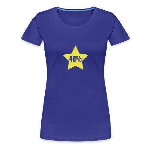 48% in Star - Women's Premium T-Shirt