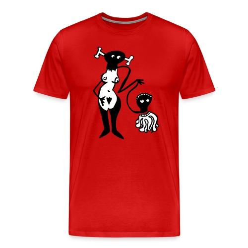 Lust und Liebe - Männer Premium T-Shirt