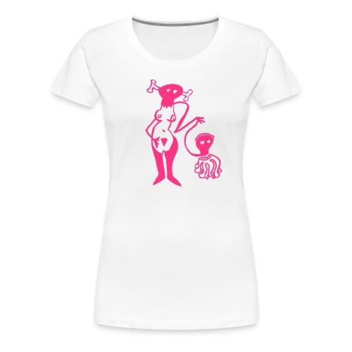 Lust und Liebe - Frauen Premium T-Shirt