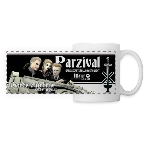 Secrets of Parzival - Mug panoramique contrasté et blanc