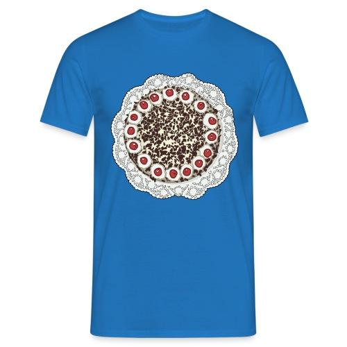 taart op t-shirt - Men's T-Shirt