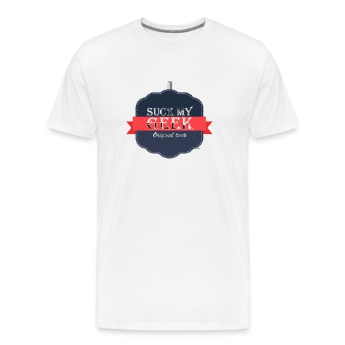 Suck my geek  - T-shirt Premium Homme