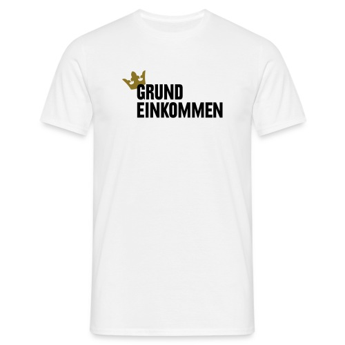 Grundeinkommen, Männer, hell - Männer T-Shirt