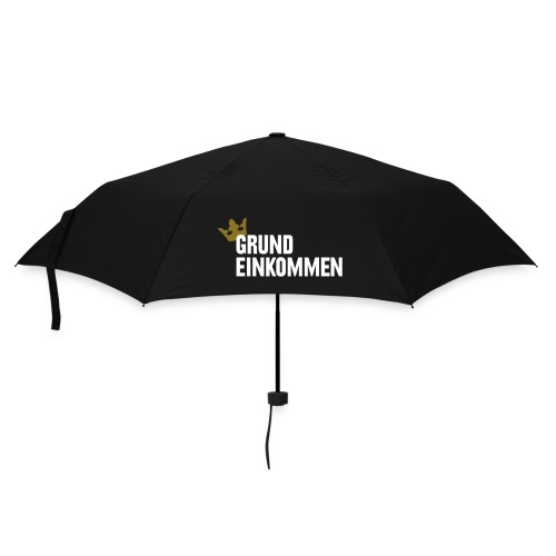 Grundeinkommen... - Regenschirm (klein)