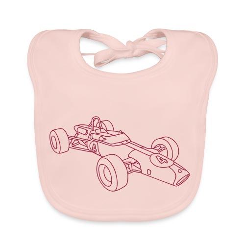 Rennwagen Motorsport - Baby Bio-Lätzchen