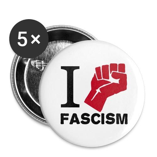 I Fight Fascism Anstecker - Buttons klein 25 mm