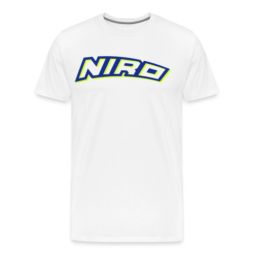 NiRo Shirt - Men - zweifarbig  - Männer Premium T-Shirt