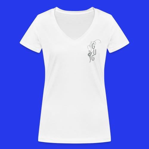 Damen - T-Shirt tailliert - V-Ausschnitt - DIGITAL DIREKTDRUCK - Frauen Bio-T-Shirt mit V-Ausschnitt von Stanley & Stella