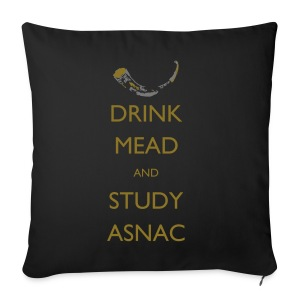 Drink Mead and Study ASNC cushion - Sofa pillow cover 44 x 44 cm