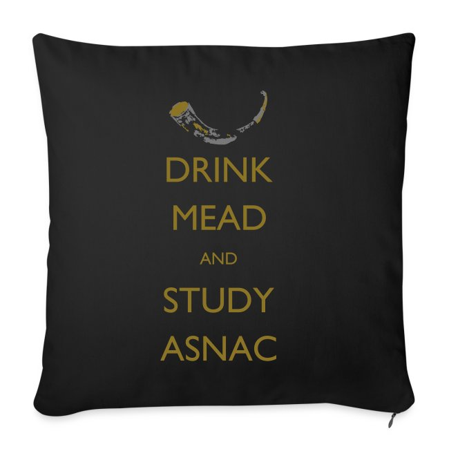 Drink Mead and Study ASNC cushion