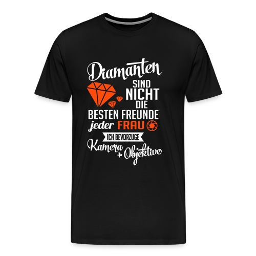 Diamanten Shirt - Männer Premium T-Shirt