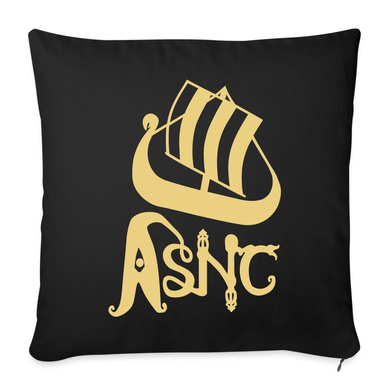 Ship logo cushion - Sofa pillow cover 44 x 44 cm