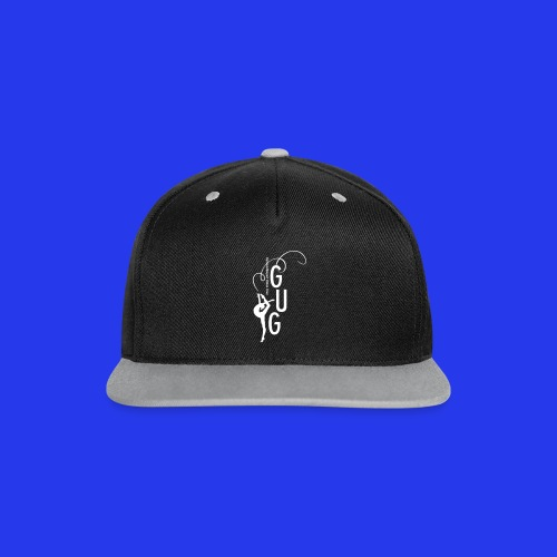 Kappe Retro - Kontrast Snapback Cap