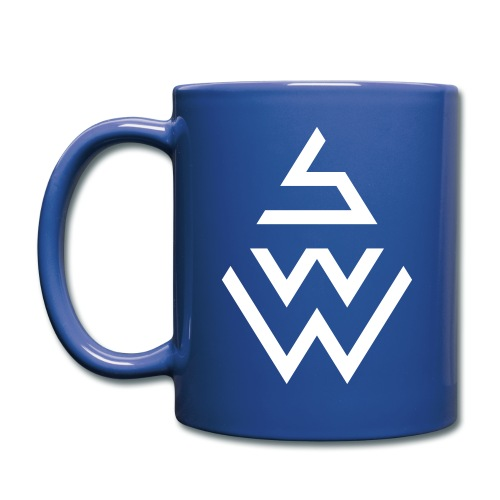 SWW - Tasse - Blau - Tasse einfarbig