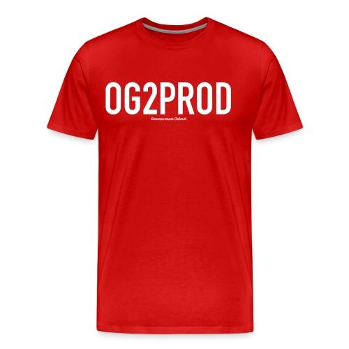 Men's Premium T Shirt : red - Men's Premium T-Shirt