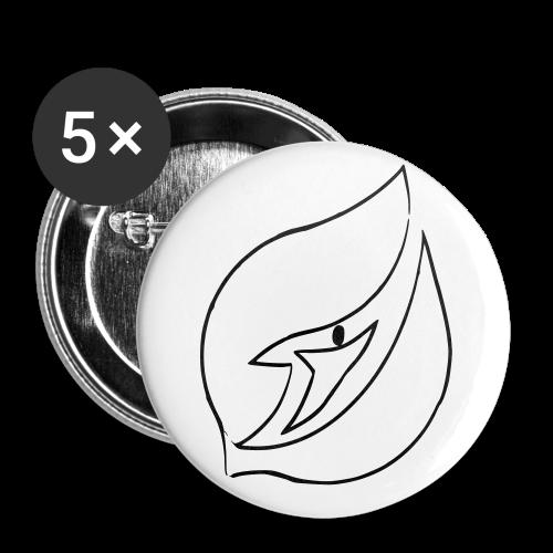 Badge JTJ - Noir et blanc - Badge petit 25 mm