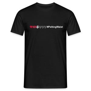 T&T Music Lovers #PeltingWaist - Men's T-Shirt