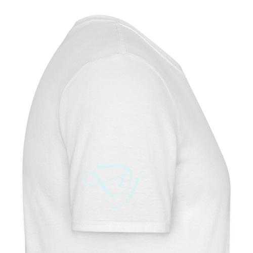 the white dj - Men's T-Shirt