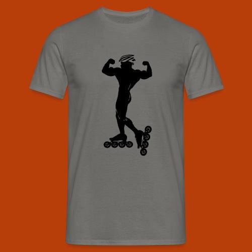 Muskelskater22 - Männer T-Shirt