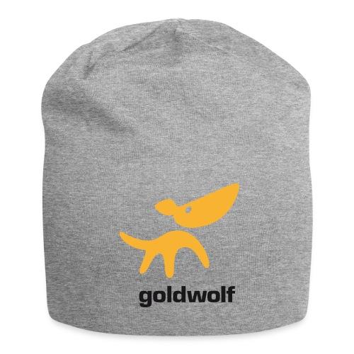 goldwolf Beanie grau - Jersey-Beanie