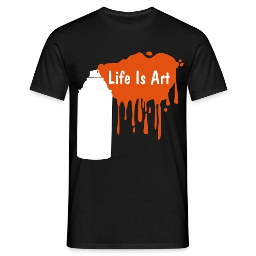 Life is art - Men's T-Shirt