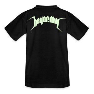 Teenager SIZE - GLOW IN THE DARK T' - Teenager T-Shirt