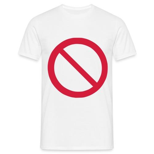 do not - T-shirt herr