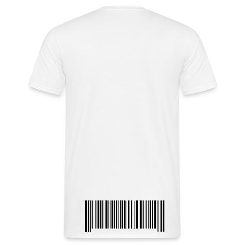 streckkod - T-shirt herr