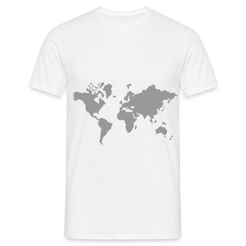 WORLD flexitryck - T-shirt herr