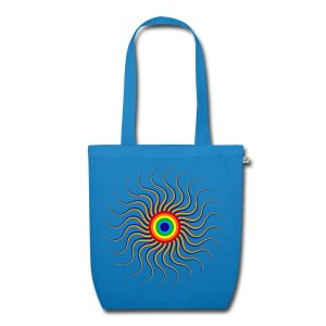 Abstract sun tote bag - EarthPositive Tote Bag