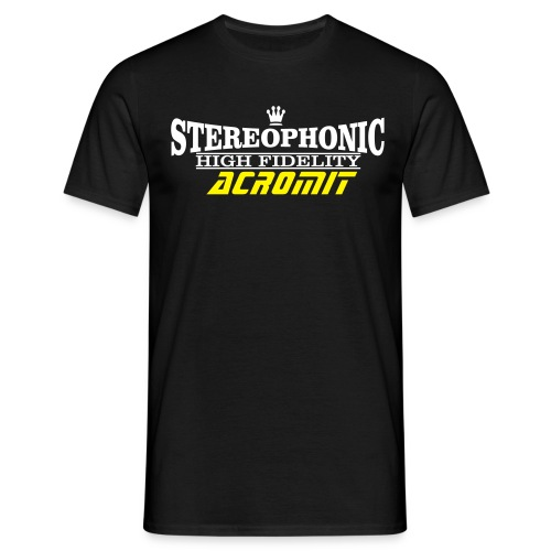 STEREOPHONIC ACROMIT - T-shirt Homme