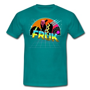 FRUK In The 80's (Colour Shirt) - Men's T-Shirt